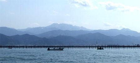 瀬戸内海ひうち灘(愛媛県西条市)